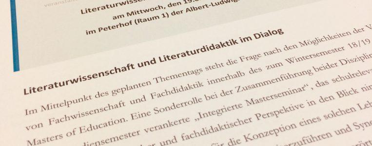 Thementag an der Universität Freiburg